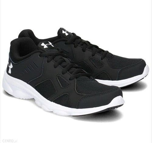 Under Armour UA BGS Pace Running Shoes Junior Girls Boys Women's Black 1272292
